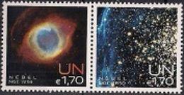 2013 UNO Wien Mi. 788-9**MNH  Internationale Weltraumwoche: Nebel - Nuevos