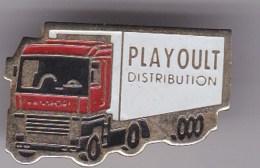 Camion - Playoult Distribution - Transport Und Verkehr