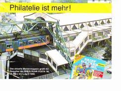 PHILATELIE IST MEHR ! Train, Métro, Ed. ? 1990 - Stamps (pictures)