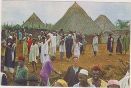 AFRIQUE,AFRICA,CAMEROUN,CAMEROON,ex Colonie Allemande Et Française,ADAMAOUA,VILLAGE,CEREMONIE  VAUDOU - Cameroun