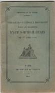 1936 - Instruction Technique Provisoire Pour Les ESCADRONS D' Automitrailleuses - Imp. Nationale - Documents Historiques