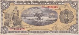 BILLETE DE MEXICO DE 1 PESO DEL AÑO 1915 CALIDAD MBC (VF)  (BANKNOTE) - México