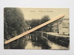 """HOTTON """" Route De LAROCHE """" Panorama  ( 1911) Édit GRÉGOIRE,HOTTON . - Hotton"""