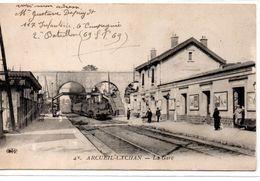 Val De Marne : Arcueil-Cachon : La Gare - Arcueil