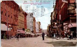 Seventh Street, East From Wabasha - St Paul . Minn. - St Paul
