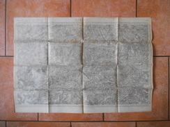 CAMBRAI LEVEE PAR LES OFFICIERS DU CORPS D'ETAT MAJOR PUBLIEE PAR LE DEPOT DE LA GUERRE 1837,REVISEE EN 1914 - Topographische Karten