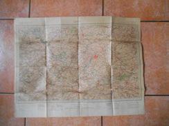 LILLE (DUNKERQUE) DRESSE GRAVE ET PUBLIE PAR LE SERVICE GEOGRAPHIQUE DE L'ARMEE CARTE DE FRANCE A 1/200 000 - Topographische Karten