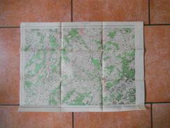 NANCY (Metz)  CARTE DE FRANCE A 1/200 000 - Topographical Maps