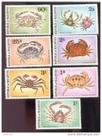 MALDIVES ; MINT N.H. STAMPS ; SCOTT # 758-64 ;  IGPC 1978 (  CRABS ; LOBSTERS - Maldives (1965-...)