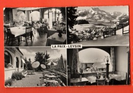 MIC-32 Multivues De L'Hôtel La Paix à Leysin. Non Circulé - VD Vaud