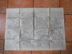 DOUAI LEVEE PAR LES OFFICIERS DU CORPS D'ETAT MAJOR PUBLIEE PAR LE DEPOT DE LA GUERRE EN 1832 REVISEE EN 1901 - Topographical Maps