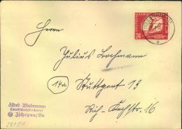1951, 24 Pfg. Wintersport Auf Fernbrief Ab ZSCHOPAU - DDR