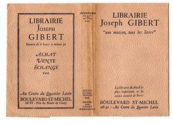 Jaquette De Livre: Librairie Joseph Gibert, Quartier Latin, Paris, Vers 1940 (17-1833) - Autres Accessoires