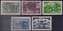 Russia 1943, Michel Nr 860-64, MNH OG - 1923-1991 USSR