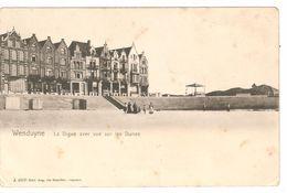 Wenduine / Wenduyne - La Digue Avec Vue Sur Les Dunes - Enkele Rug - Uitg. Aug. De Maecker - Beyaert - Wenduine