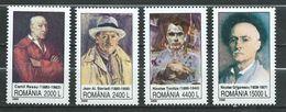 Romania 2000 Self-Portraits.Art. MNH - 1948-.... Republics