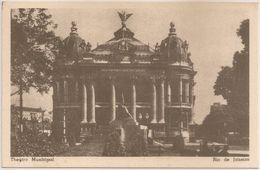 Postal Brasil - Brazil - Rio Janeiro - Teatro Municipal (Ed. Comissão Brasileira Centenarios Portugal) - CPA - Rio De Janeiro