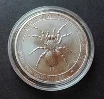 Australia, Funnel Web Spider 1 Oz 2015 Silver 999 Pure - 1 Oncia Argento Puro Bullion Ragno Perth Mint - Australia