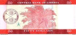LIBERIA P. 34 50 D 2016 UNC - Liberia