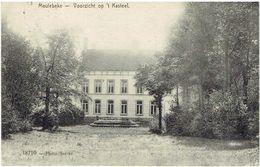 MEULEBEKE - Voorzicht Op Het Kasteel - 18710 Photo Sacrez - Feldpost - Soldaten Briefstempel - Meulebeke