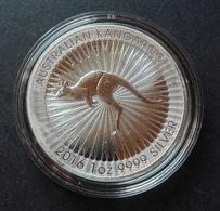 Australia, Red Kangaroo 1 Oz 2016 Silver 999 Pure - 1 Oncia Argento Puro Bullion Canguro Perth Mint - Australia