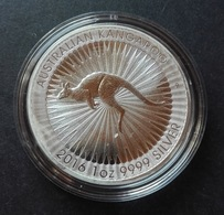 Australia, Red Kangaroo 1 Oz 2016 Silver 999 Pure - 1 Oncia Argento Puro Bullion Canguro Perth Mint - Mint Sets & Proof Sets