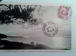 Cachet Manuel   Ronce Les Bains Charante Maritime Sur Gandon Cote Sautone - Marcophilie (Lettres)
