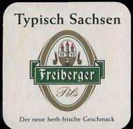 569-DEUTSCHLAND-GERMANY Freiberger Braurei-brewery Bierdeckel-Beer Coasters 1850 - Sous-bocks