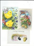 Lot Joyeuses Paques  6 Cartes TBE - Pâques