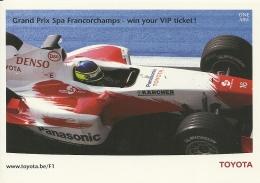 Belgique Francorchamps / Da Matta / Toyota Panasonic Kärcher - Grand Prix / F1
