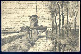 Cpa Moulin Gravure   SEP17-29 - Métiers
