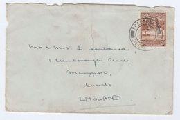 1930s SIERRA LEONE GV 2d Stamps COVER To GB - Sierra Leone (...-1960)