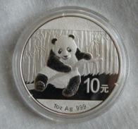 China, Panda 1 Oz 2014 Silver 999 Pure - 1 Oncia Argento Puro Bullion Cina - Cina