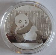 China, Panda 1 Oz 2015 Silver 999 Pure - 1 Oncia Argento Puro Bullion Cina - Cina