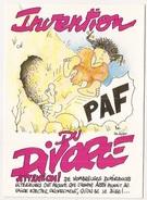 Carte Postale  Thème Humour  Invention Du Divorce - Ohne Zuordnung