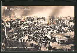 CPA Dunkerque, Kampf Um Den Kanal, Flucht Der Bevölkerung - Dunkerque