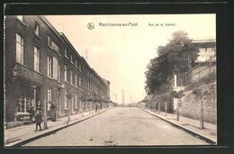 CPA Marchienne-au-Pont, Rue De La Station - Sin Clasificación