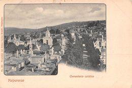"""06642 """"CILE - VALPARAISO - CEMENTERIO CATOLICO""""   CART NON SPED - Cile"""