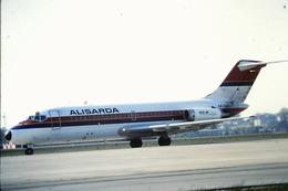Diapositive/slide  Aereo DC 9 15 ALISARDA  ITALIAN COMPANY - Diapositive
