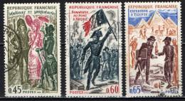 FRANCIA - 1972 - STORIA DI FRANCIA: COSTUMI, NAPOLEONE BONAPARTE, IN EGITTO - USATI - Oblitérés