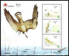 (046) Portugal  Birds Of Prey Sheet / Bf / Bloc Oiseaux Rapaces / Greifvögel / Falcons  ** / Mnh  Michel BL 106 - Unclassified