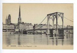 CPA Rouen Ancien Pont Suspendu N° 120 ND - Rouen