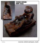 Figurine érotique Birmanie Fin XIXème Début XXème / Old Erotic Figure From Burma More Than A Hundred Years Old - Art Asiatique