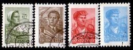 Russia, USSR 1959-60, Scott 2290-2293,  People/Professions And Scenes Of USSR, Perf. 12 X 12.5, Unused CTO, NH, OG - 1923-1991 USSR