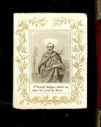 A.Felix Paris - Saint Joseph  Daignez Attirer Sur Nous Les Yeux De Marie - Devotion Images