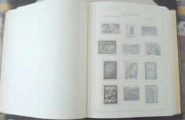 Polynésie Française, France, Album KA BE/LEUCHTURM  Reliure Et Boitier Vert Foncé - Feuilles Intercalaires 1958-88 - Bindwerk Met Pagina's