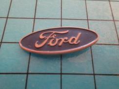 Pin1115c Pin's Pins : Rare Et Belle Qualité : AUTOMOBILES / LOGO DE LA MARQUE FORD - Ford