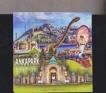 RO) 2017 TURKEY, CENTER OF TOURISM AND FUN ANKAPARK, ROBOT DINOSAUR, SOUVENIR MNH - 1921-... Republic