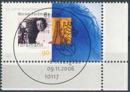 5167  Werner Forssmann, Cathétérisme Cardiaque: Timbre D'Allemagne - Cardiac Catheterization, Nobel Prize Medicine 1956 - Medicine