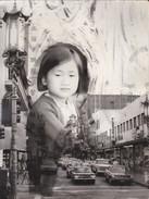 PHOTO MONTAGE---ASIE ? ---a Située--( Format 23.5 Cm + 17.8 Cm )--voir 2 Scans - Postcards